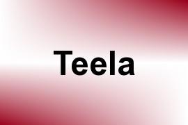Teela name image