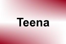 Teena name image