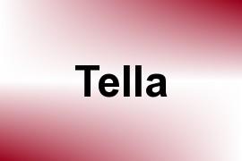 Tella name image