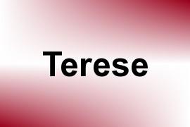 Terese name image