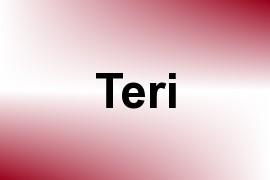 Teri name image
