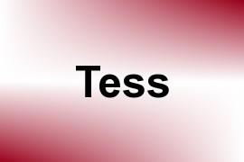 Tess name image