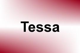 Tessa name image