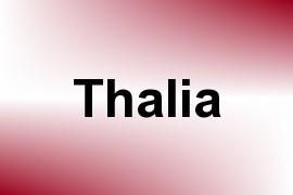 Thalia name image