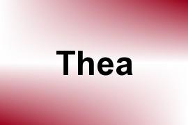 Thea name image