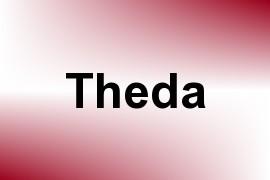 Theda name image