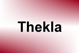 Thekla name image