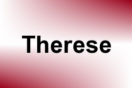 Therese name image
