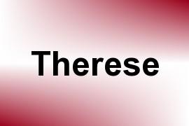 Therese name image