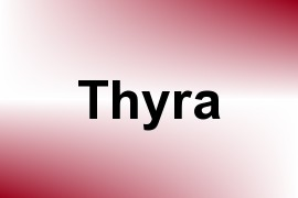Thyra name image