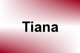 Tiana name image