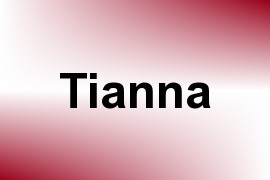 Tianna name image
