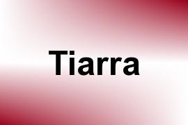 Tiarra name image