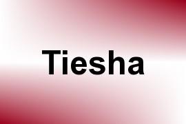 Tiesha name image