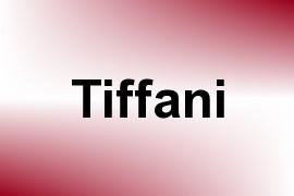 Tiffani name image