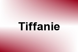 Tiffanie name image