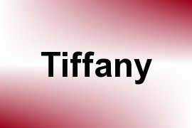 Tiffany name image