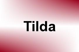 Tilda name image
