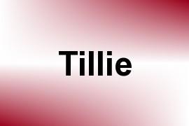 Tillie name image