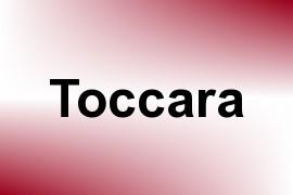 Toccara name image