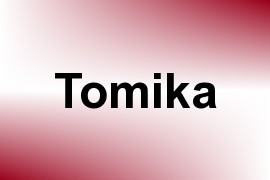 Tomika name image