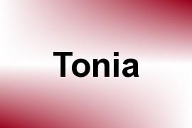 Tonia name image
