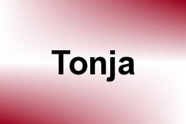 Tonja name image