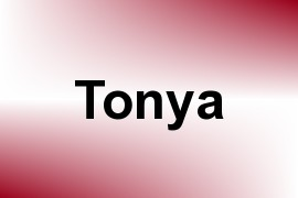 Tonya name image