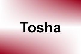 Tosha name image