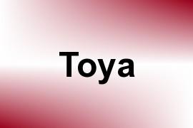 Toya name image