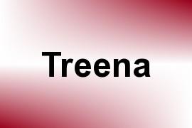 Treena name image