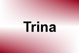 Trina name image