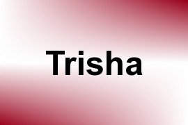 Trisha name image