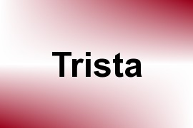 Trista name image