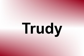 Trudy name image
