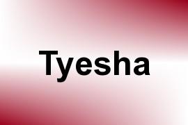 Tyesha name image