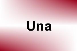 Una name image