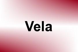 Vela name image