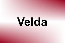 Velda name image