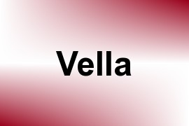 Vella name image