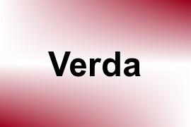 Verda name image