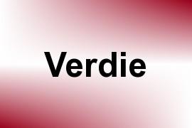 Verdie name image