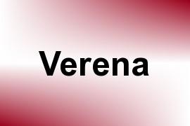 Verena name image