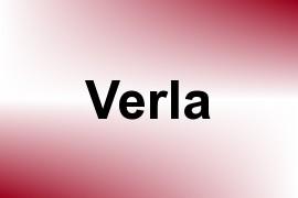 Verla name image