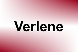 Verlene name image