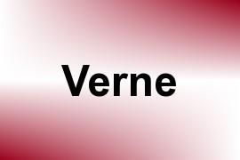 Verne name image