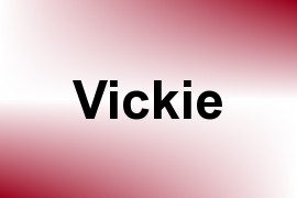 Vickie name image