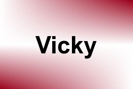 Vicky name image