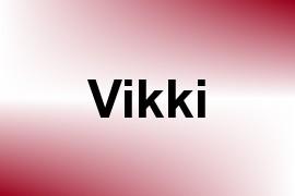 Vikki name image