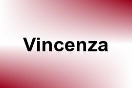 Vincenza name image